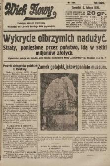 Wiek Nowy : popularny dziennik ilustrowany. 1928, nr7984