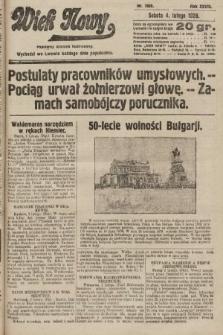 Wiek Nowy : popularny dziennik ilustrowany. 1928, nr7985