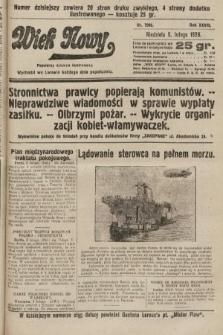 Wiek Nowy : popularny dziennik ilustrowany. 1928, nr7986