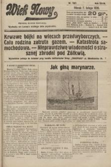 Wiek Nowy : popularny dziennik ilustrowany. 1928, nr7987