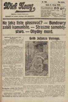 Wiek Nowy : popularny dziennik ilustrowany. 1928, nr7988