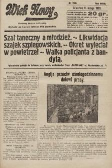 Wiek Nowy : popularny dziennik ilustrowany. 1928, nr7989