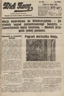 Wiek Nowy : popularny dziennik ilustrowany. 1928, nr7990