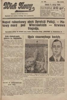 Wiek Nowy : popularny dziennik ilustrowany. 1928, nr7991