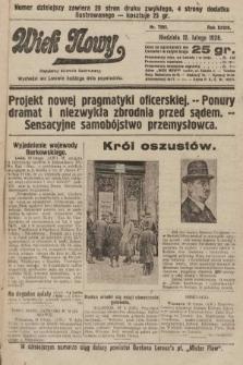 Wiek Nowy : popularny dziennik ilustrowany. 1928, nr7992