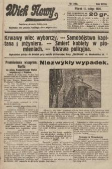 Wiek Nowy : popularny dziennik ilustrowany. 1928, nr7993