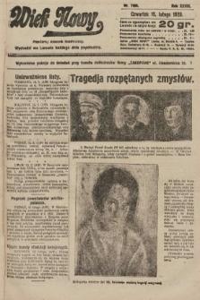 Wiek Nowy : popularny dziennik ilustrowany. 1928, nr7995