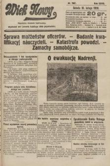 Wiek Nowy : popularny dziennik ilustrowany. 1928, nr7997