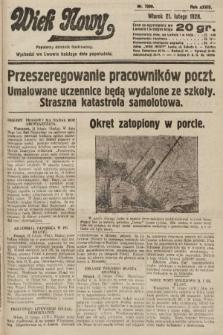 Wiek Nowy : popularny dziennik ilustrowany. 1928, nr7999