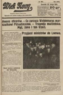 Wiek Nowy : popularny dziennik ilustrowany. 1928, nr8001