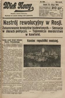 Wiek Nowy : popularny dziennik ilustrowany. 1928, nr8003