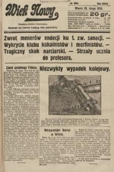 Wiek Nowy : popularny dziennik ilustrowany. 1928, nr8005