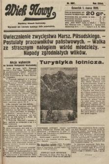 Wiek Nowy : popularny dziennik ilustrowany. 1928, nr8007