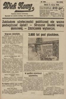 Wiek Nowy : popularny dziennik ilustrowany. 1928, nr8009