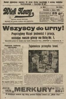 Wiek Nowy : popularny dziennik ilustrowany. 1928, nr8010