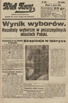 Wiek Nowy : popularny dziennik ilustrowany. 1928, nr8011