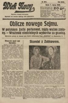 Wiek Nowy : popularny dziennik ilustrowany. 1928, nr8012