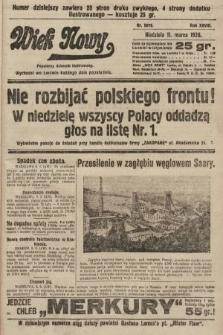 Wiek Nowy : popularny dziennik ilustrowany. 1928, nr8016