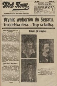 Wiek Nowy : popularny dziennik ilustrowany. 1928, nr8017