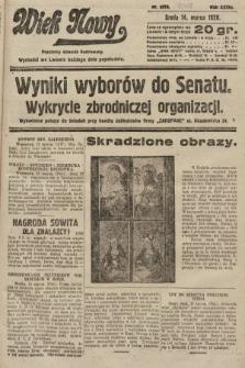 Wiek Nowy : popularny dziennik ilustrowany. 1928, nr8018