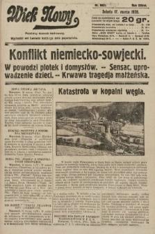 Wiek Nowy : popularny dziennik ilustrowany. 1928, nr8021