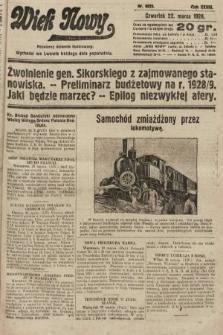 Wiek Nowy : popularny dziennik ilustrowany. 1928, nr8025