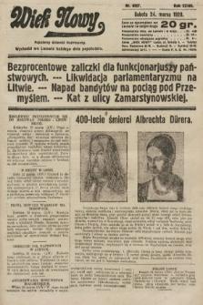 Wiek Nowy : popularny dziennik ilustrowany. 1928, nr8027