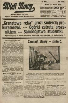 Wiek Nowy : popularny dziennik ilustrowany. 1928, nr8029