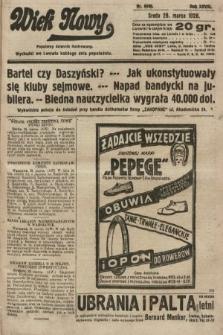 Wiek Nowy : popularny dziennik ilustrowany. 1928, nr8030