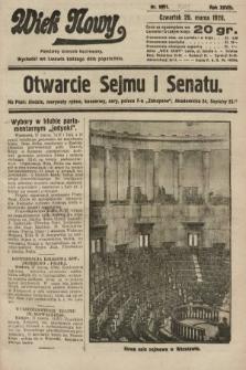Wiek Nowy : popularny dziennik ilustrowany. 1928, nr8031