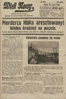 Wiek Nowy : popularny dziennik ilustrowany. 1928, nr8033