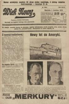 Wiek Nowy : popularny dziennik ilustrowany. 1928, nr8034