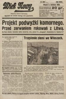 Wiek Nowy : popularny dziennik ilustrowany. 1928, nr8035
