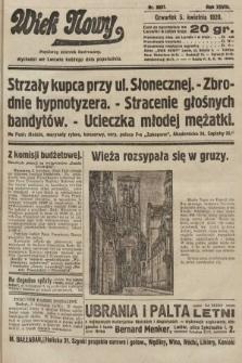 Wiek Nowy : popularny dziennik ilustrowany. 1928, nr8037