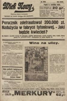 Wiek Nowy : popularny dziennik ilustrowany. 1928, nr8038
