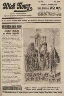 Wiek Nowy : popularny dziennik ilustrowany. 1928, nr8039