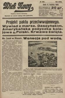 Wiek Nowy : popularny dziennik ilustrowany. 1928, nr8041