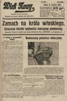 Wiek Nowy : popularny dziennik ilustrowany. 1928, nr8044