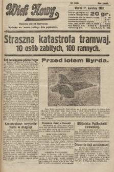 Wiek Nowy : popularny dziennik ilustrowany. 1928, nr8046