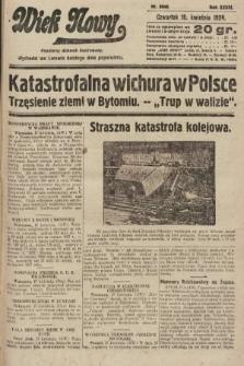 Wiek Nowy : popularny dziennik ilustrowany. 1928, nr8048