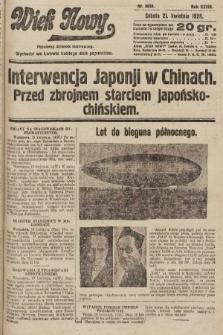 Wiek Nowy : popularny dziennik ilustrowany. 1928, nr8050