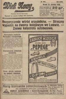 Wiek Nowy : popularny dziennik ilustrowany. 1928, nr8052
