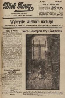 Wiek Nowy : popularny dziennik ilustrowany. 1928, nr8053