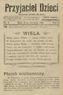 Przyjaciel Dzieci : ilustrowane pisemko dla dzieci : dodatek bezpłatny do Dziennika Berlińskiego. 1914, nr2