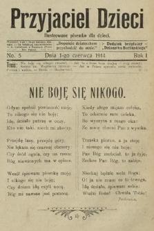Przyjaciel Dzieci : ilustrowane pisemko dla dzieci : dodatek bezpłatny do Dziennika Berlińskiego. 1914, nr5