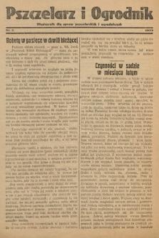 Pszczelarz i Ogrodnik : miesięcznik dla spraw pszczelarskich i ogrodniczych. 1933, nr2