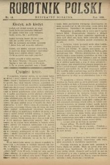 Robotnik Polski : bezpłatny dodatek. 1926, nr16