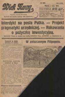 Wiek Nowy : popularny dziennik ilustrowany. 1928, nr8058