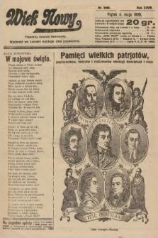 Wiek Nowy : popularny dziennik ilustrowany. 1928, nr8060