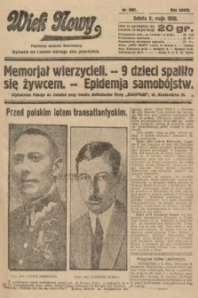 Wiek Nowy : popularny dziennik ilustrowany. 1928, nr8061